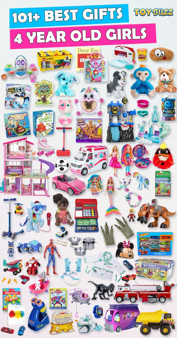Best Toys For 4 Year Old Girls 2020 – List of Best Gifts