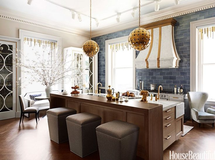 Expressive kitchen lighting ideas for your best meal | Spherical pendant lamps in polished nickel, brass and acrylic  | More at http://homeinspirationideas.net/room-inspiration-ideas/expressive-kitchen-lighting-ideas-best-meal