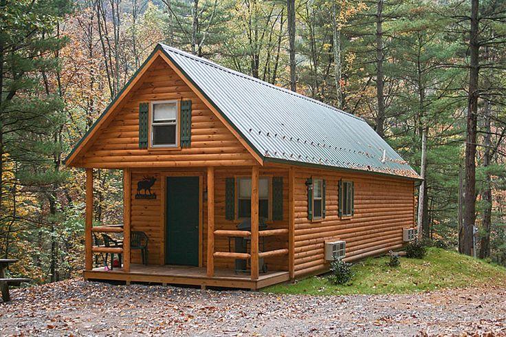 Adirondack Style Log Cabin