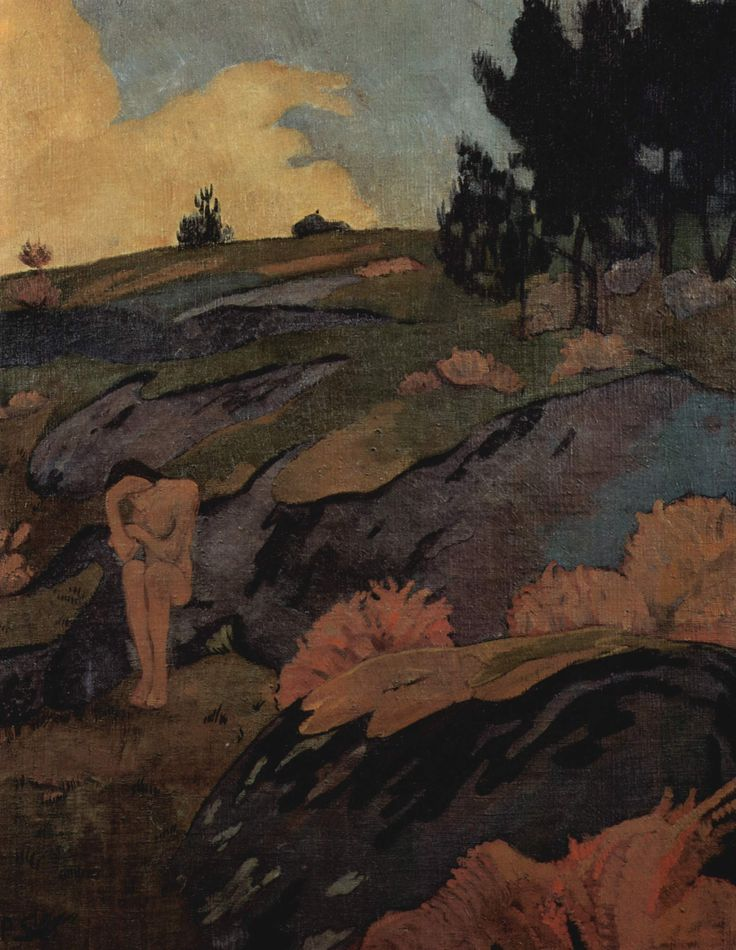 Melancholia, or Breton Eve by @paulserusier #synthetism