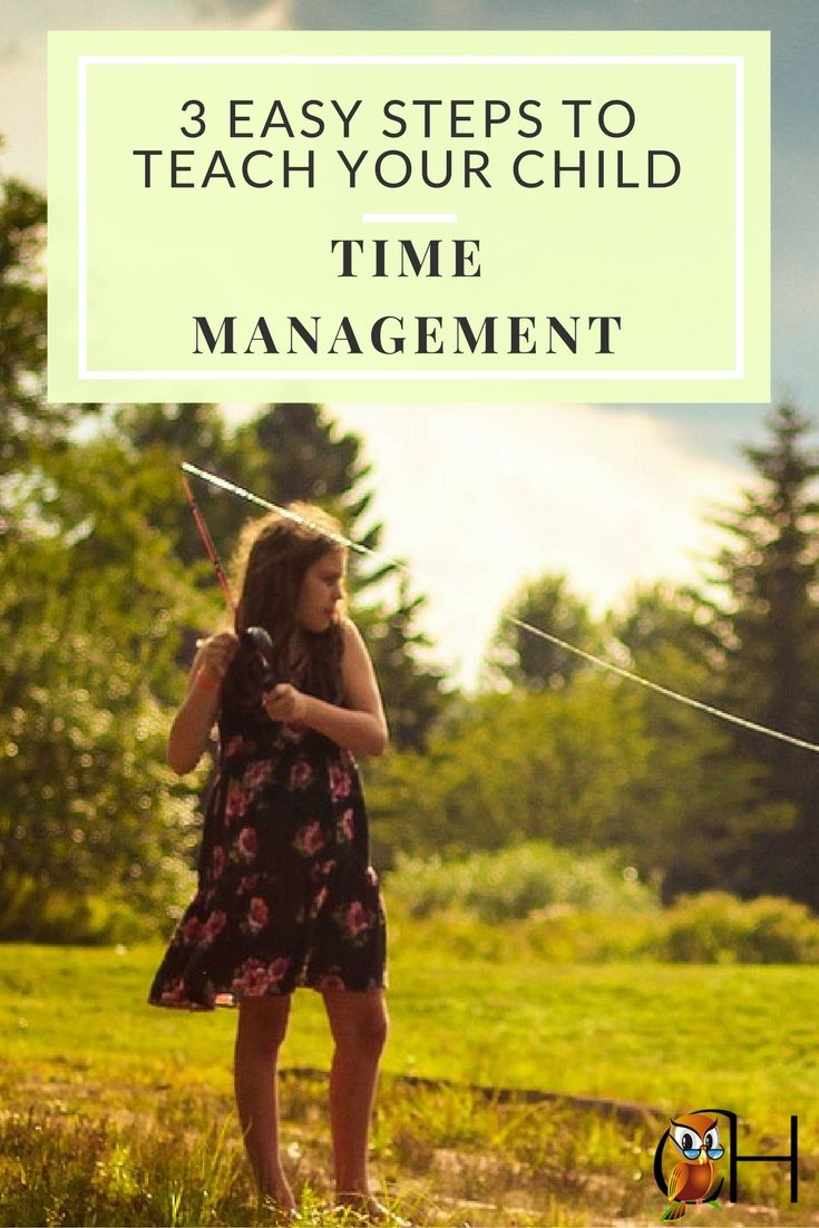 Do you have a lazy kid? These children aren't lazy, they simply have no in-born time management skills. Use these steps to teach time management to your child.