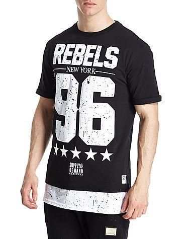 Supply & Demand splatter t-shirt - that should be mine!