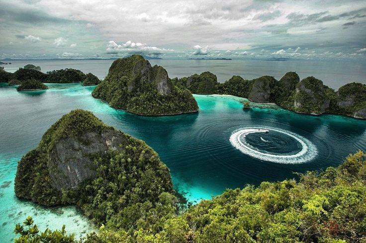 Острова Раджа Ампат. Индонезия