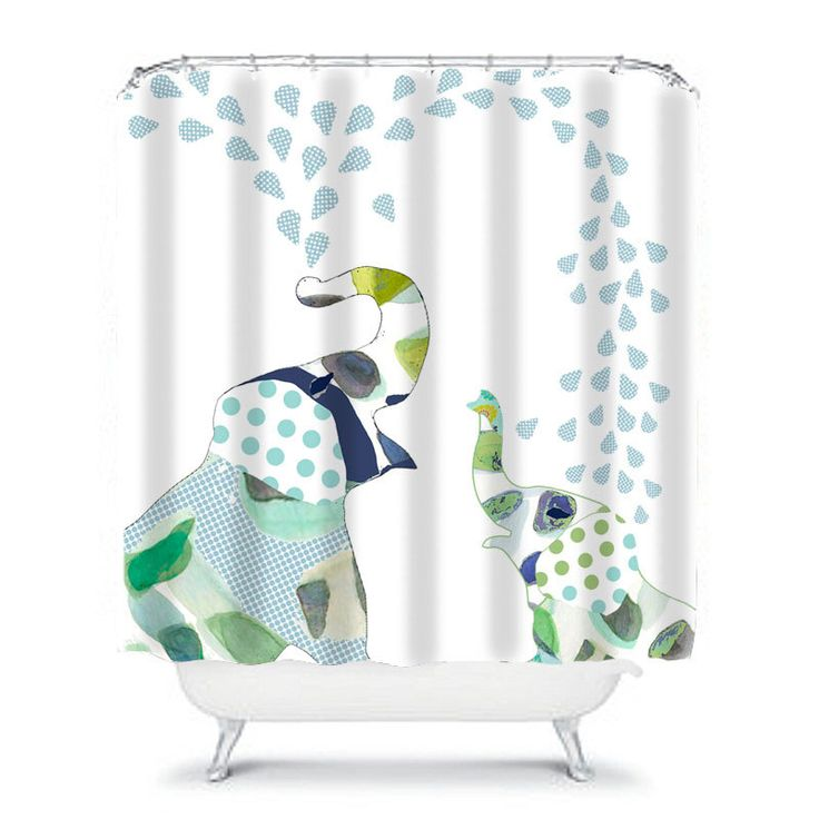 kids shower curtain,elephant shower curtain,elephant bathroom decor,childrens shower curtain,boys shower curtain,fun shower curtain,elephant by OzscapeHomeDecor on Etsy https://www.etsy.com/listing/246387557/kids-shower-curtainelephant-shower
