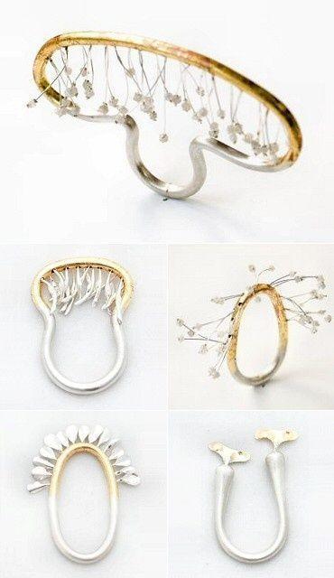 Rui Kikuchi japanese jeweller delicate rings (kinetic flower series) jewellery-box-favourites beauty
