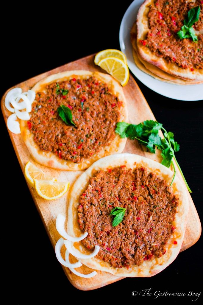 Turkish Lamb Lahmacun and Camden Town Market | The Gastronomic BONG