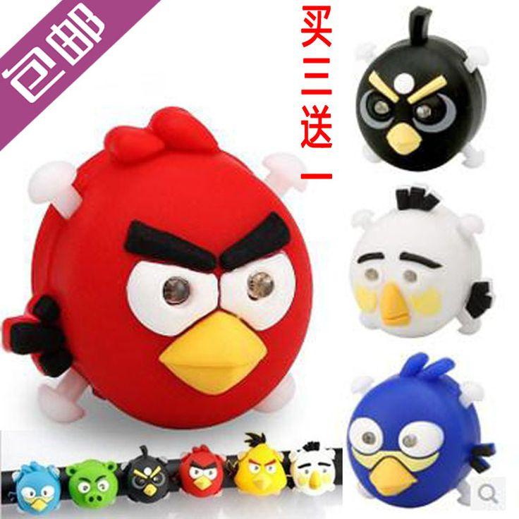 Angry Birds światła ostrzegawcze rowerowe