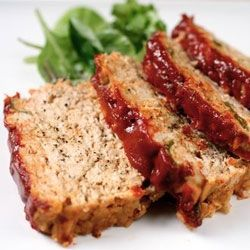 Emeril's Turkey Meatloaf. Do oats & evaporated milk make for a better...