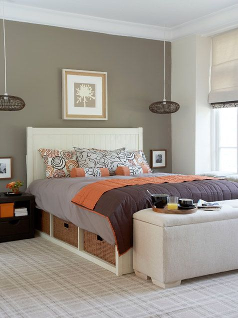 Decorating Ideas: Great bed.