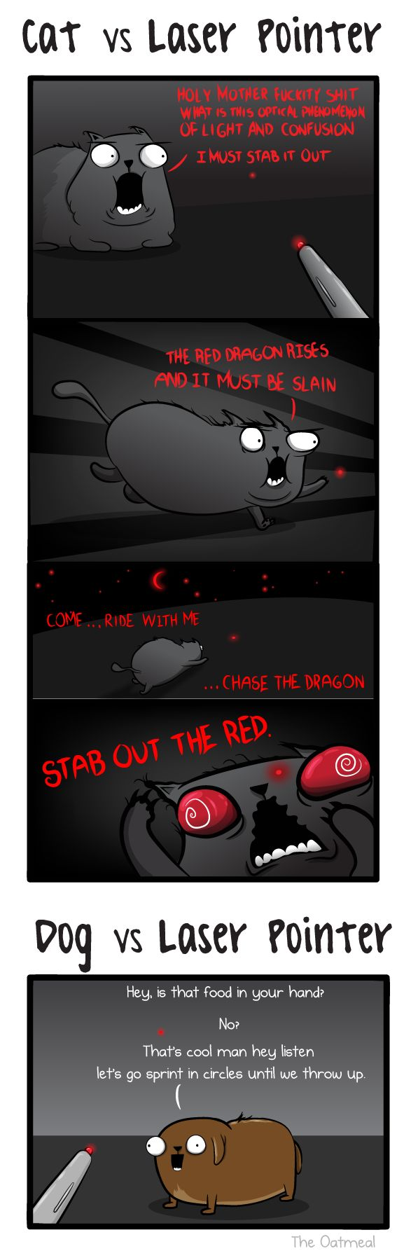 Minor Differences Part 6 - The Oatmeal