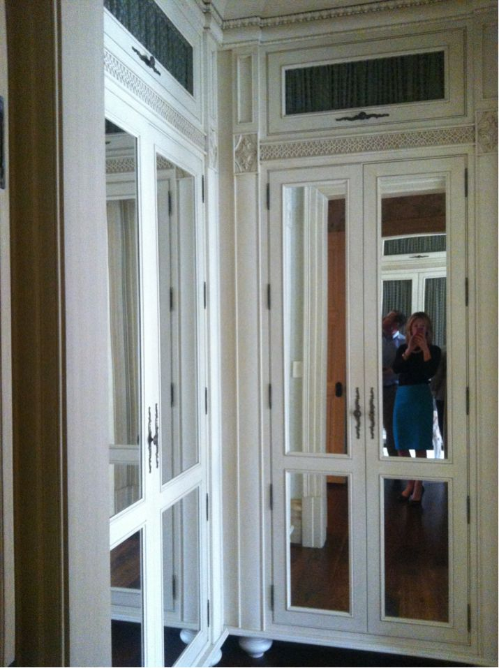 Her Closet Mirrored Doors ~ Designed By Barry Dixon ~