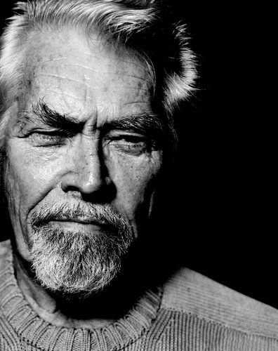 James COBURN (1928-2002) [] Active 1957-2002 > Born James Harrison Coburn III 31 Aug 1928 Nebraska > Died 18 Nov 2002 (aged 74) California, heart attack > Spouses: Beverly Kelly (1959–79 div); Paula Murad (1993–2002, his death) > Children: 2, son and stepdaughter / Photo By Marcel Hartmann