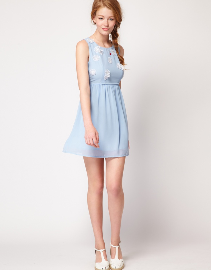 wendy blue: Babydoll Dress, Dahlias, Dresses, Dress Up, Chiffon Babydoll, Baby Dolls, Dahlia Chiffon