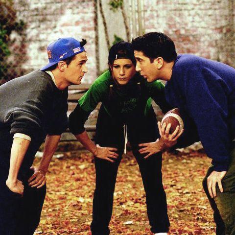 Chandler,Rachel and Ross