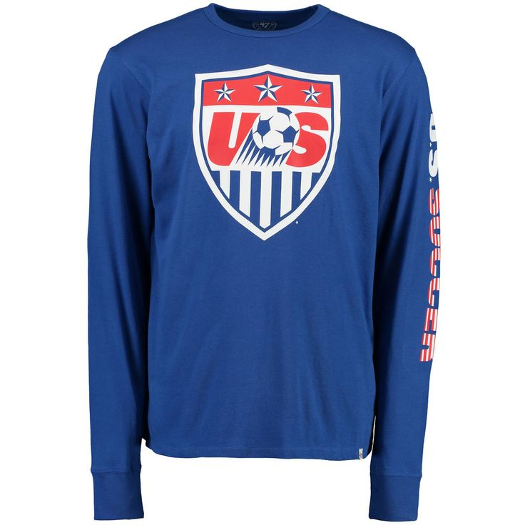 US Soccer '47 All Pro Team Long Sleeve T-Shirt - Blue