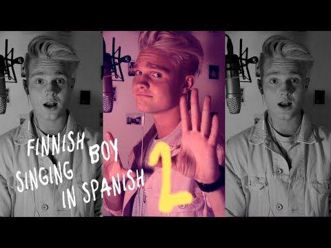 BENJAMIN - Mi Gente Cover // FINNISH BOY SINGING IN SPANISH  2
