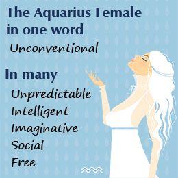 Aquarius Female: Understanding Aquarius Women