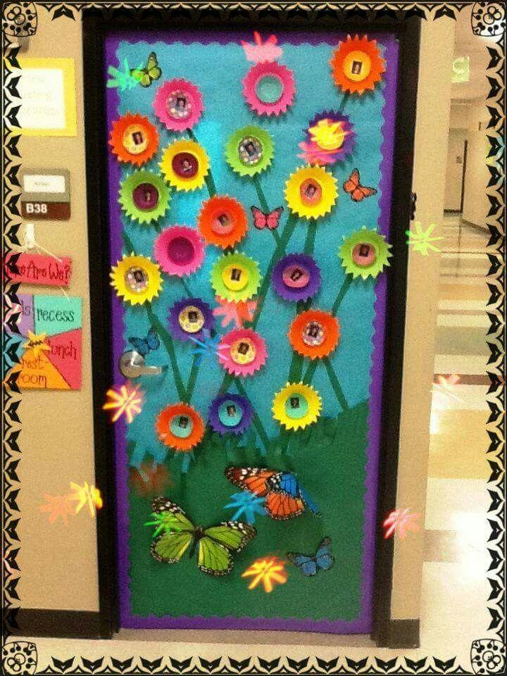 Porta para primavera,educação infantil