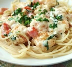 "Cheesecake Factory Shrimp Scampi: ""Five stars delicious! My wife begs me to make this practically daily. She says as long as I keep making this recipe, she could never leave me!"" -Tabasco Saucy"