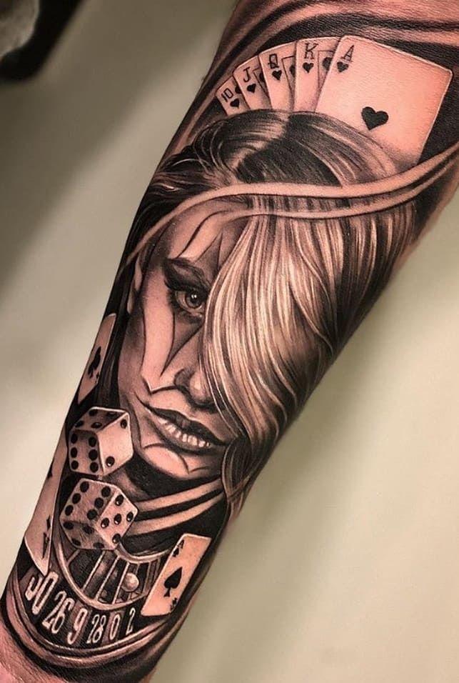 Tatuagens No Antebraco 100 Desenhos Masculinos Incriveis Face