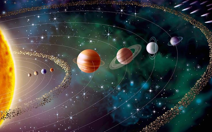 High Resolution Solar System Planets Astronomy Computer Wallpaper Full Size