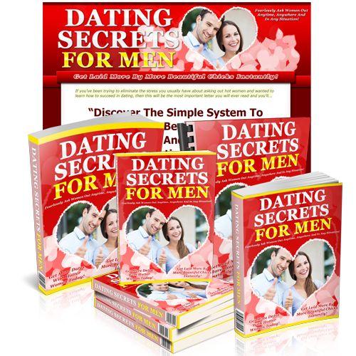 """New PLR Ebook Titled """"Dating Secrets For Men"""" Just Released! Grab a Copy at http://www.niche4wealth.us/jvz/datingsecretsformen/index.html"""