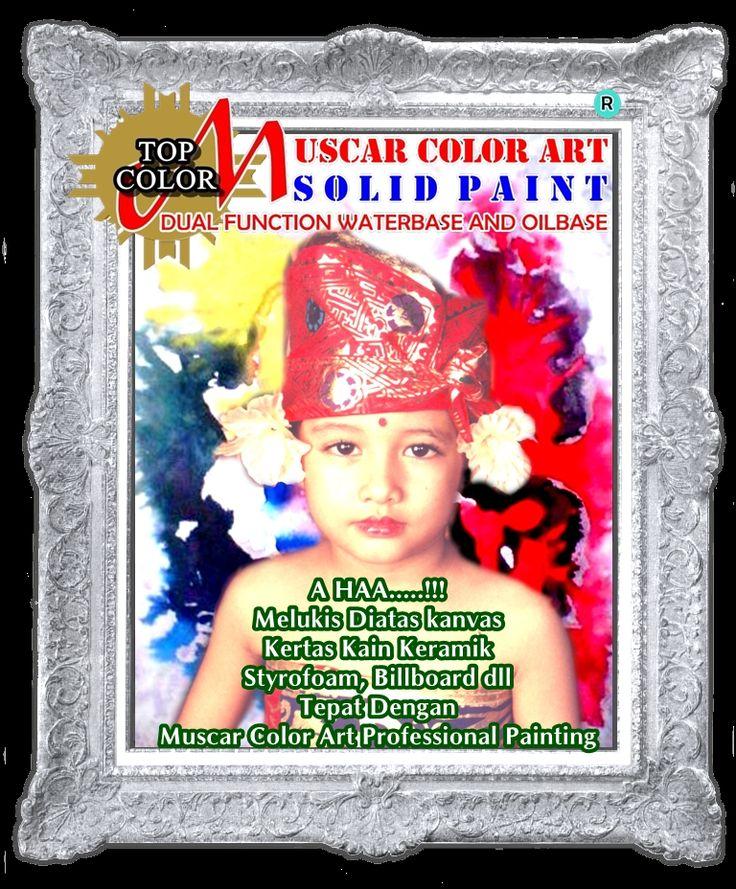 Solid Paint Muscar Color Art