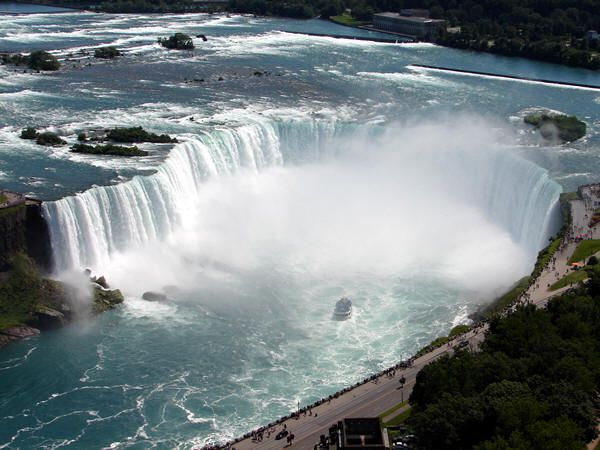 Niagara Falls Ontario I love to go there, it makes me feel far away from home and it's an exciting place to be