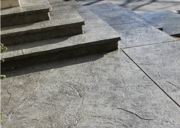how to make stone stairs