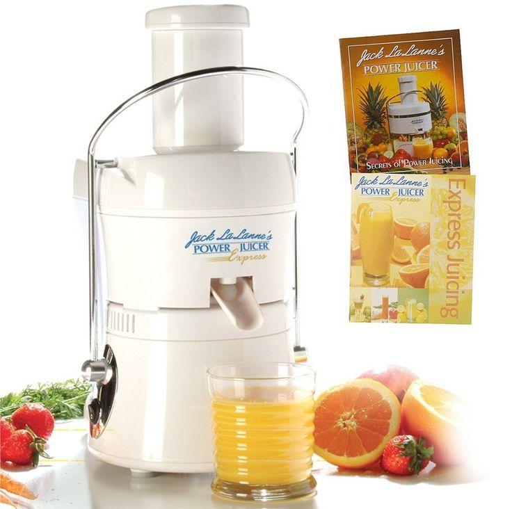Jack LaLanne JLPJB Power Juicer Juicing Machine
