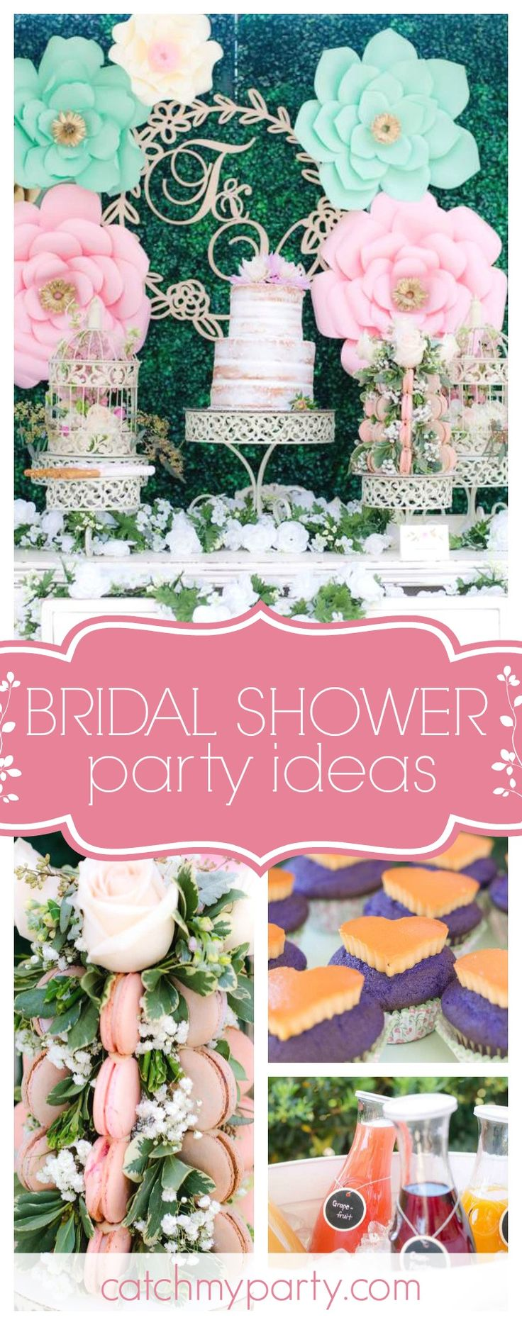 step into this gorgeous vintage garden bridal shower the desert table is so elegant