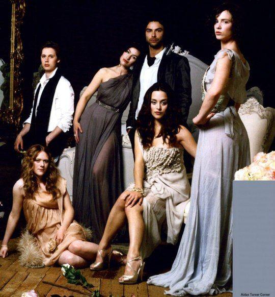 Aidan Turner and cast of Desperate Romantics…
