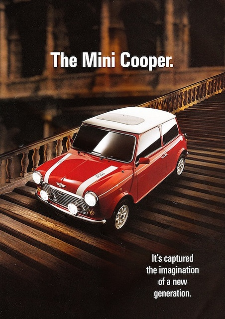 Rover Mini Cooper Brochure