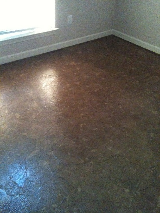 Brown Paper Bag Floor With Polyurethane