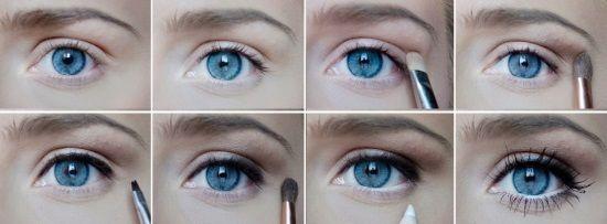 вечерний макияж для серо-зеленых больших глаз поэтапно: 16 тыс изображений найдено в Яндекс.Картинках