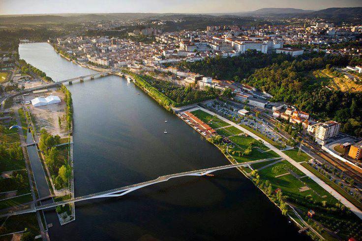 Coimbra vista aérea