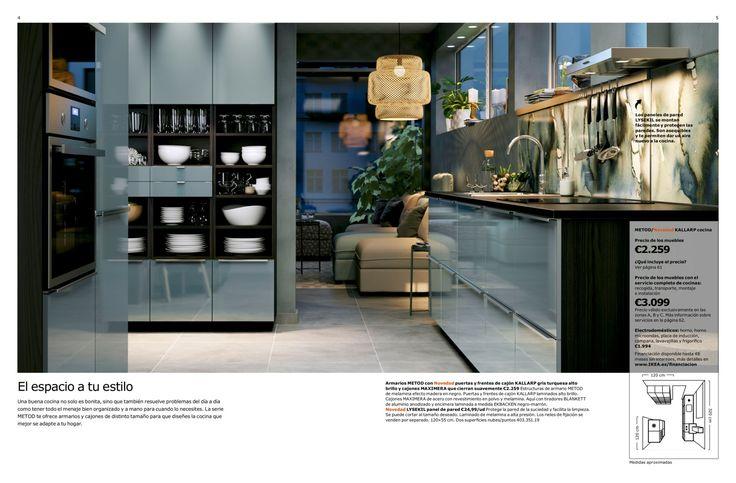 CATÁLOGO COCINAS 2017 Cocina Abierta Pinterest Brochures - ikea küchen katalog