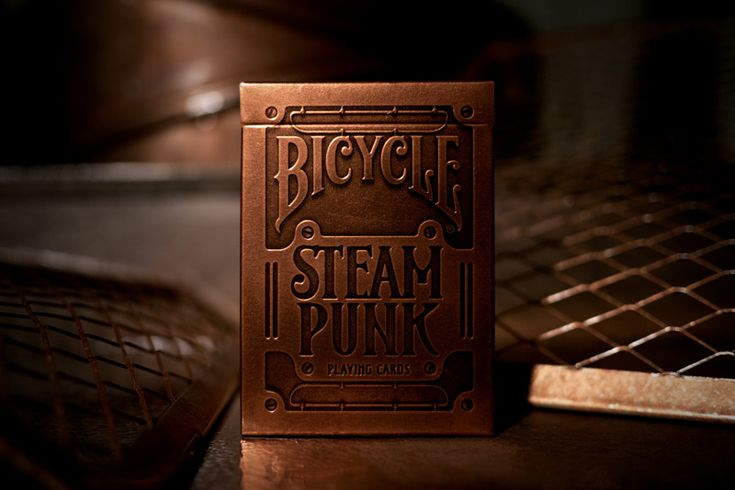 "I'm thrilled about this product...mostly. 1) the paper of the cards could have been antiqued somehow instead of blinding white.  2) Is it just me, or does labeling the box ""Steam Punk"" kind of take some of the steampunkyness right out of it?"