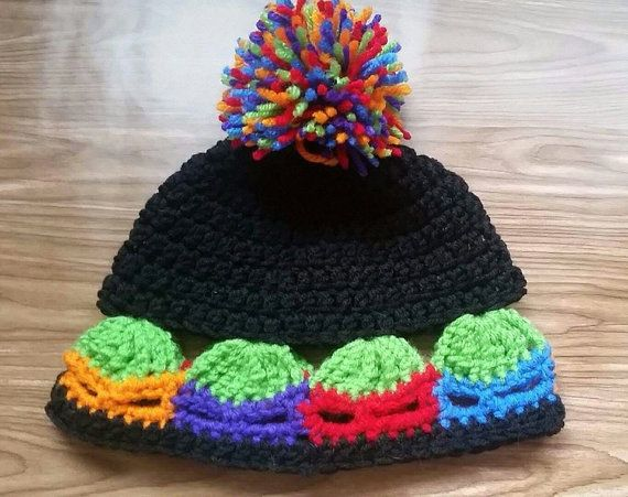 120 Best Crochet Happy Hooker Ninja Turtles Images On Pinterest