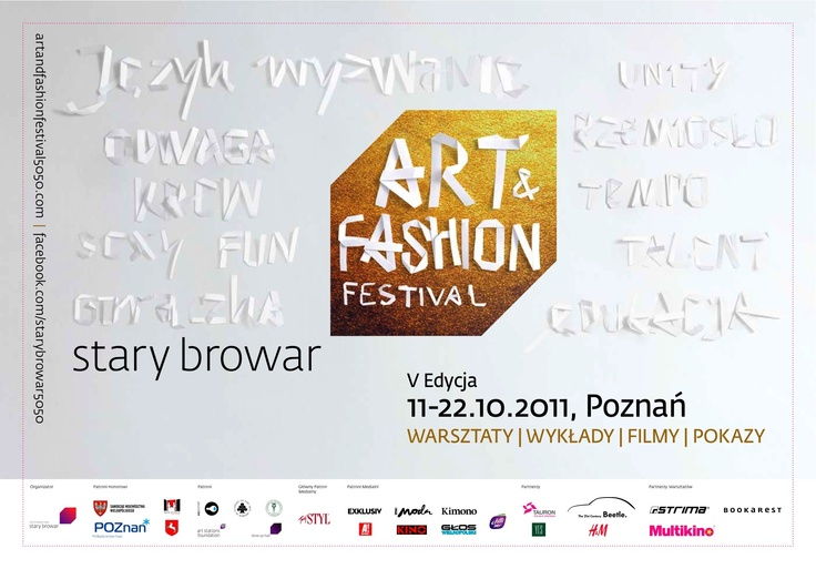 Theme of Festival by Ela Gadek #art #fashion #festival #starybrowar #gadek #poznan #theme