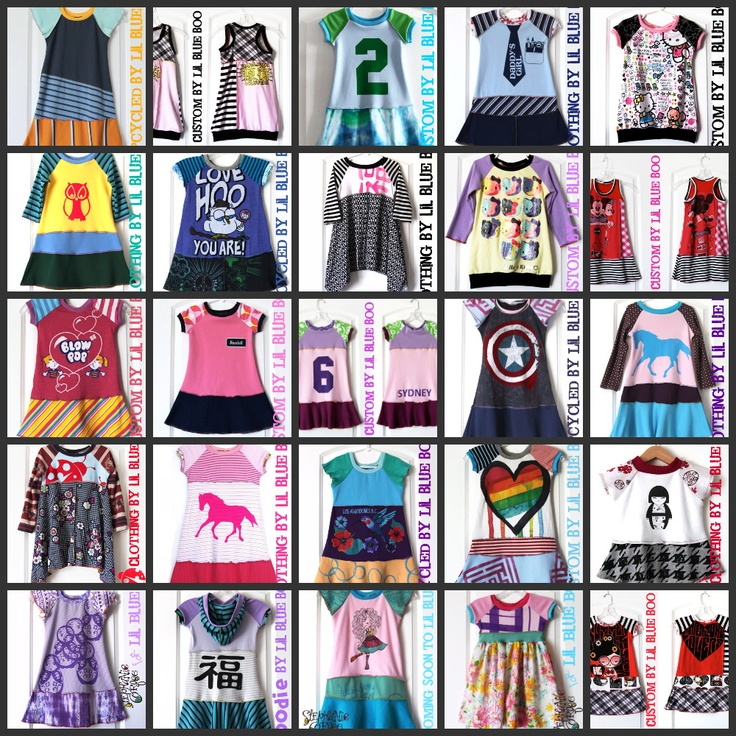 Custom Dresses by Lil Blue Boo, mostly patterns and combos of knits. $50: Blue Boo, Knits Crochet, Girls Generation, Lil Blue, Custom Dresses, Girls Dresses, Upcycled Fashion, Lil Dresses, Girls Spring