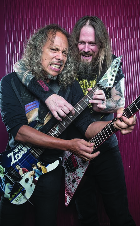 ~Long Time Friendz: Kirk Hammett And Gary Holt From The Band Exodus~