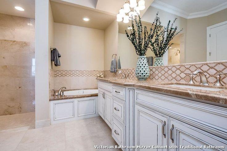 Victorian Bathroom Mirror Cabinet