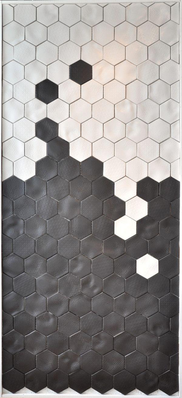 1000 ideas about honeycomb tile on pinterest drapery panels tile and double shower heads - Fliesen kempf ...