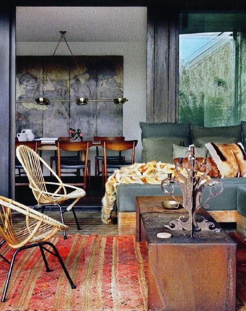La Maison Boheme: Bohemian Interiors at Their Best  This will be the theme in my house when I'm rich & having a successful career...