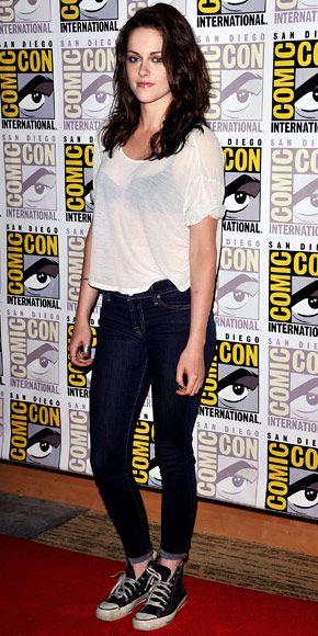 I really like Kristen Stewart. She seems like she's not afraid to be herself