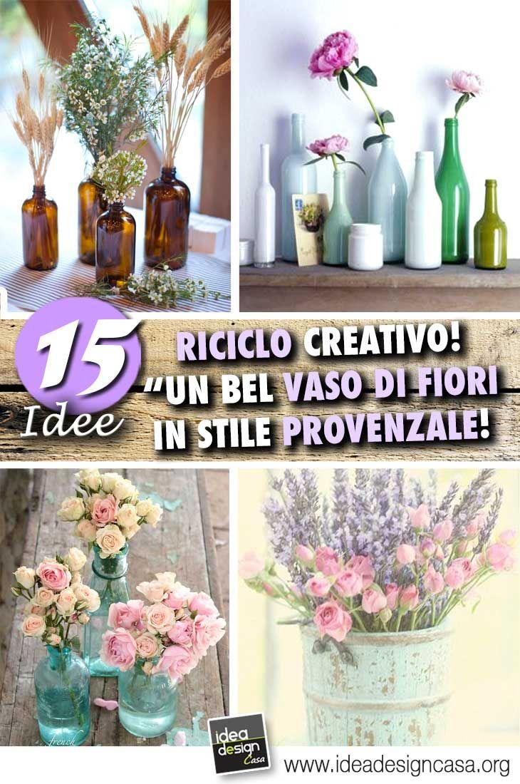 Idee Per Vasi Da Fiori vasetti di fiori fai da te in stile provenzale! 15 idee per