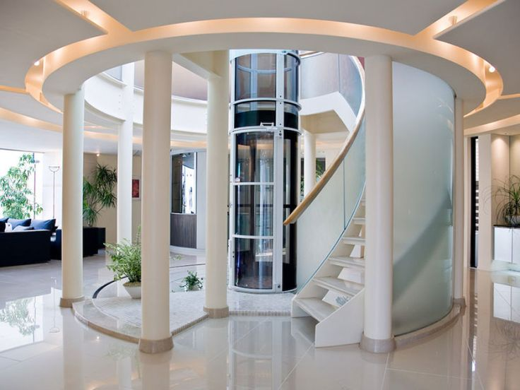 Gallery of These Space-Saving Home Elevators are Vacuum Powered - 1