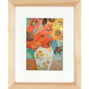 Ash Natural GALLERY-CANVAS DEPTH matted wood frame 16x20/11x14 by Nielsen-Bainbridge® - Picture Frames, Photo Albums, Personalized and Engraved Digital Photo Gifts - SendAFrame