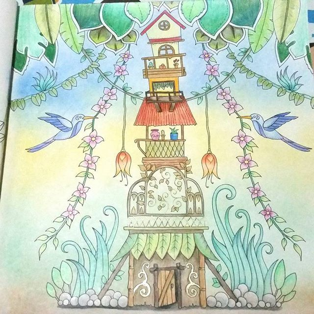 Magicaljungle Johannabasford Coloringbook Fabercastell